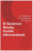 10 science study guide cover page