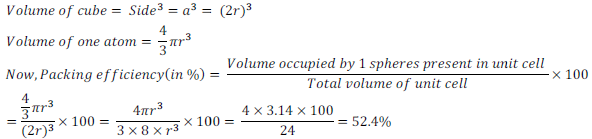 class 12 solid state ncert exercise solution7A