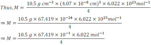 class 12 solid state ncert exercise solution11