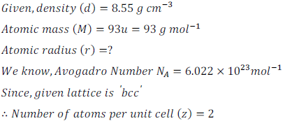 class 12 solid state ncert exercise solution15