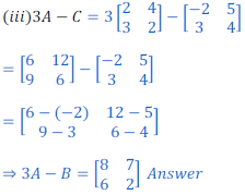 Matrices Exercise 2 Part 1 Class 12 Mathematics