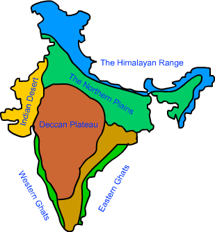 Physical Features Of India Map Physical Features Of India Map | compressportnederland Physical Features Of India Map