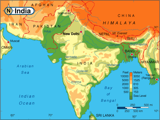 images geographical features of india geographical features of india ...