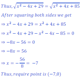 Solution of coordinate geometry 24NCERT Exercise 7.1
