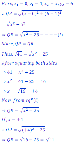 Solution of coordinate geometry 28NCERT Exercise 7.1