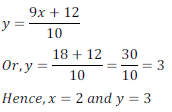 class ten math cbse - Pair of Linear equations in two variables_20, exercise 3.3 - ncert solution