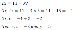 class ten math cbse - Pair of Linear equations in two variables_25, exercise 3.3 - ncert solution