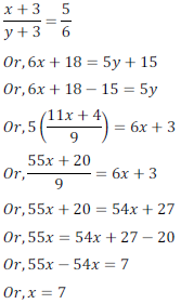 class ten math cbse - Pair of Linear equations in two variables_45, exercise 3.3 - ncert solution