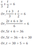 class ten math cbse - Pair of Linear equations in two variables_6, exercise 3.3 - ncert solution