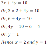 class ten math cbse - Pair of Linear equations in two variables_10, exercise 3.4 - ncert solution