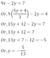 class ten math cbse - Pair of Linear equations in two variables_18, exercise 3.4 - ncert solution