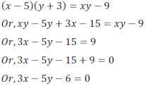 class ten math cbse - Pair of Linear equations in two variables_52, exercise 3.5 - ncert solution