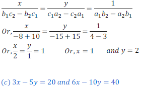 class ten math cbse - Pair of Linear equations in two variables_7, exercise 3.5 - ncert solution