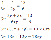 class ten math cbse - Pair of Linear equations in two variables_3, exercise 3.6 - ncert solution