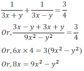 class ten math cbse - Pair of Linear equations in two variables_37, exercise 3.6 - ncert solution