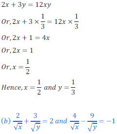 class ten math cbse - Pair of Linear equations in two variables_5, exercise 3.6 - ncert solution