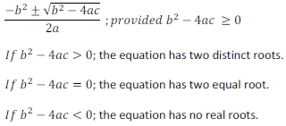 Quadratic Equation 1