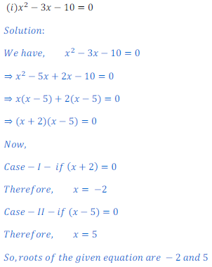 QuadraticEquation1