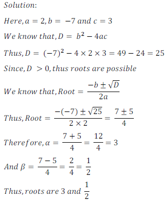 quadratic equation exercise 4.1_11