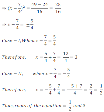 quadratic equation exercise 4.1_3