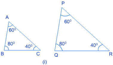 class ten math triangles1 ncert solution of exercise 6.3
