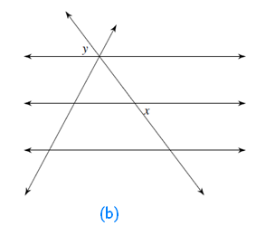 Seven mathematics lines angles exercise 5 2 - Which of the following are exterior angles ...